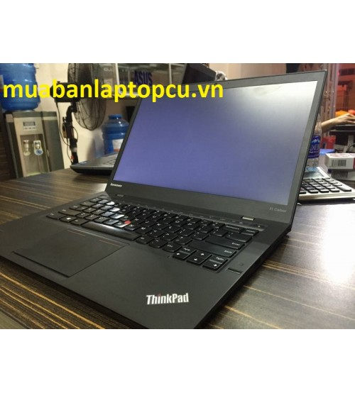 Ultrabook Thinkpad X1-Carbon-Core i5-4300U-8GB-SSD 180GB-HD-Siêu mỏng-Siêu Vip